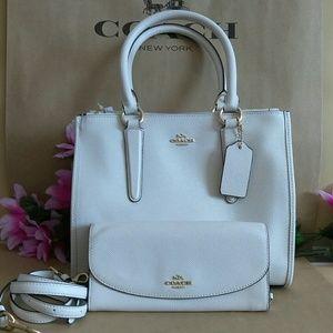 NWT Coach purse bag crossbody w/ wallet set